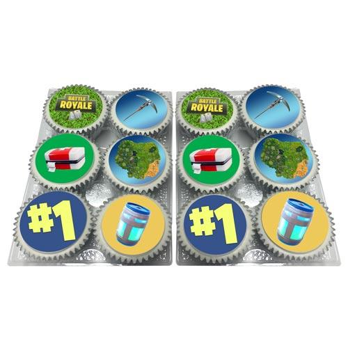 battle royal fortnite cupcakes