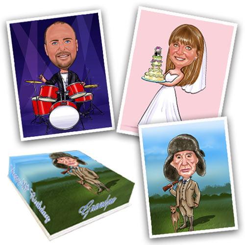 buy edible caricatures from eatyourphoto