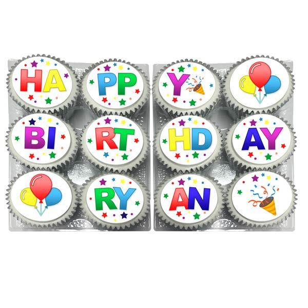 Buy Happy Birthday Cupcakes