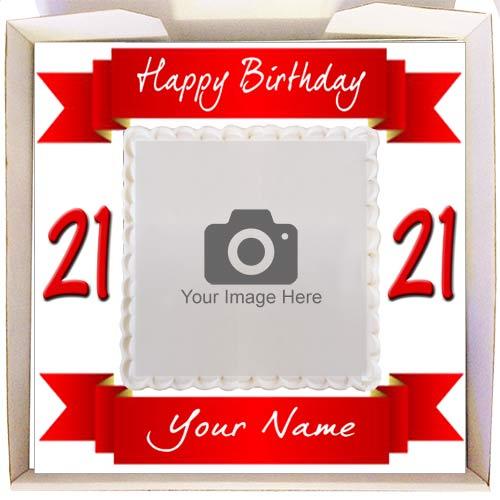 birthday banner frame