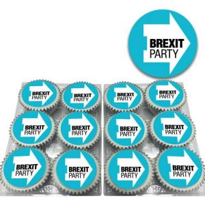 brexit party cupcakes