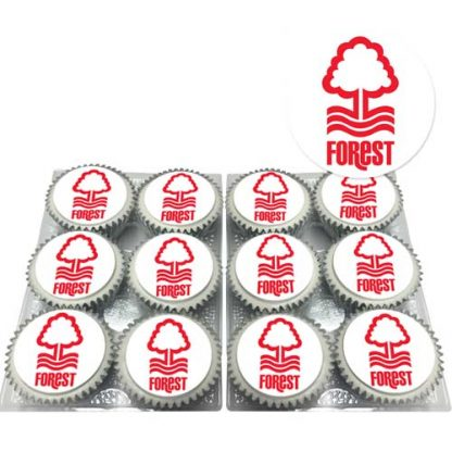 nottingham forest cupcakes