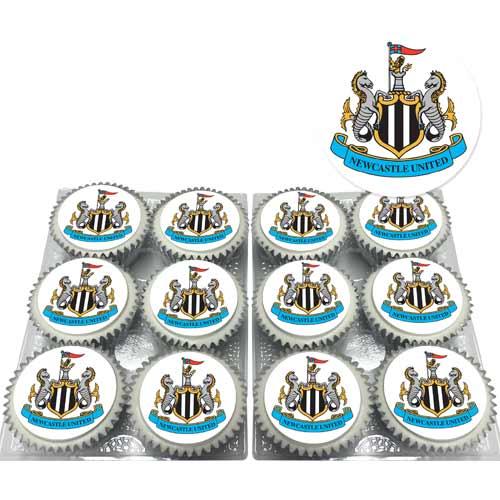 newcastle united cupcakes