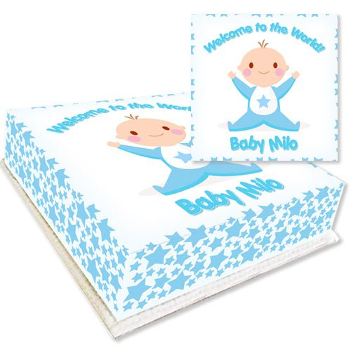 Welcome Baby Boy Cake