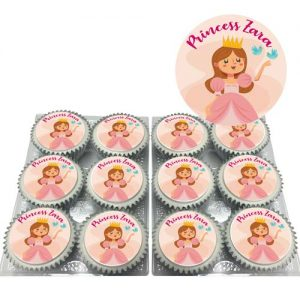 Princess Cupcakes With Text