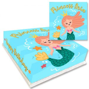 Underwater Princess Cake