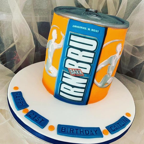 Irn bru cake example