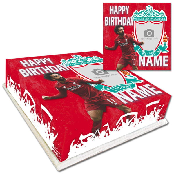 Mo Salah Birthday Cake Delivered