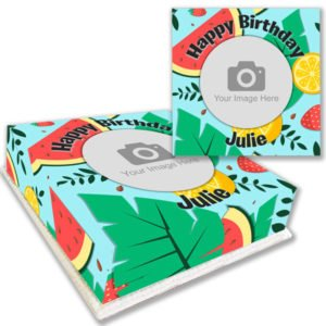Summer Themed Birthday Party Photo Cake Online