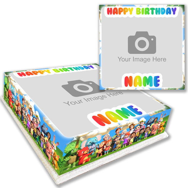cocomelon personalised birthday cake delivered