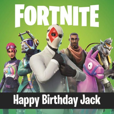 personalised fortnite edible photo image