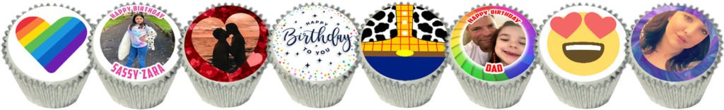 Personalised Cupcakes Delivered Fresh UK