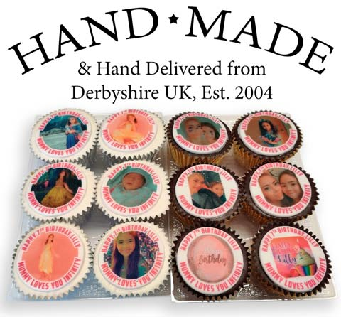 Hand Made Cupcakes Delivered Online