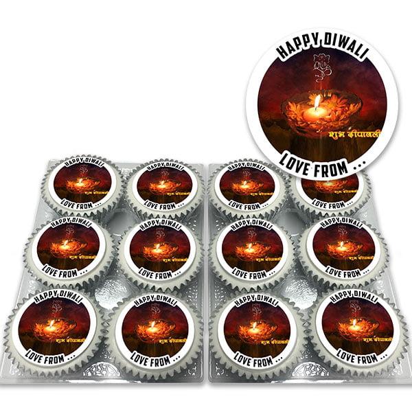 Happy Diwali Cupcakes