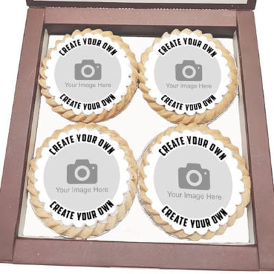 Custom Printed Mince Pies with your own photo