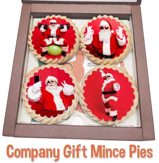 Santa's mince pies