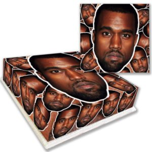 Kanye West Face Birthday Cake Delivered