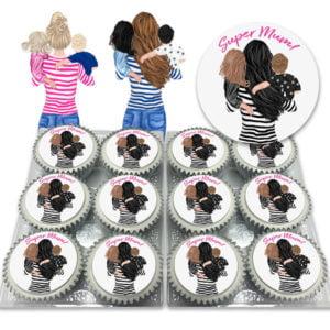 Create your own super mum cupcakes