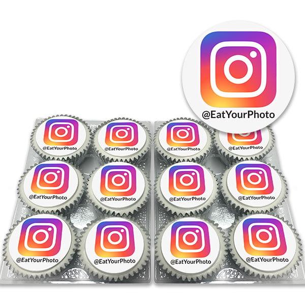 Order Instagram Handle Cupcakes